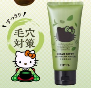 $5.09 ROSETTE x Hello Kitty Green Tea Face Wash 120g