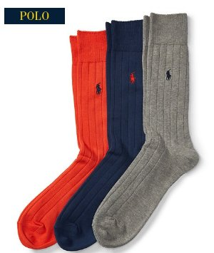 Up to 65% Off + Extra 40% OffSock Sale @ Ralph Lauren