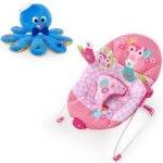 Bright Starts Happy Tweet Bouncer with BONUS Octoplush Toy