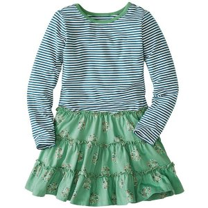 Girls Stripey Mix It Up Dress | Sale Girls Dresses