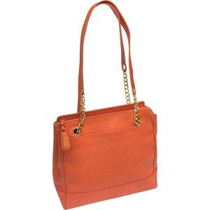 (2) orange Plain Leather CHANEL Handbag - Vestiaire Collective