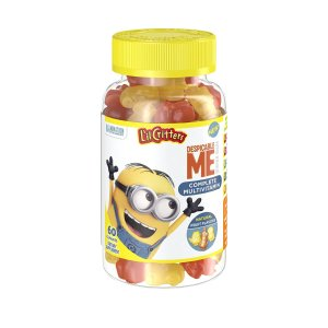 $3.60 + Free Shipping L'il Critters Minions Multivitamins Gummies, 60 Count