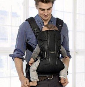 $142BABYBJORN Baby Carrier One Air - Black, Mesh