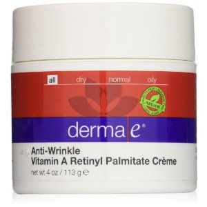 Amazon.com: derma e Anti-Wrinkle Vitamin A Retinyl Palmitate Creme: Beauty