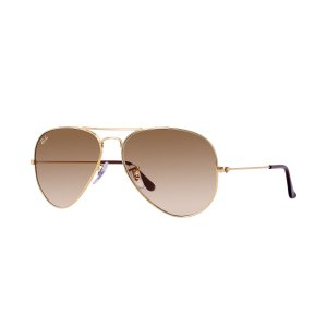 Ray-Ban Aviator Gradient Gold, RB3025 | Ray-Ban® USA