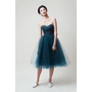 Gretta Tulle Skirt - TEAL - 30