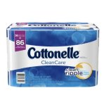 $15.37 Cottonelle CleanCare Toilet Paper Bath Tissue, 36 Family Rolls