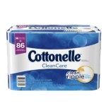 Cottonelle CleanCare Toilet Paper Bath Tissue, 36 Family Rolls