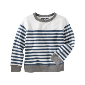 Toddler Boy French Terry Crew Pullover | OshKosh.com