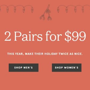 2 For $99Men and Womens Shoes @ Rockport