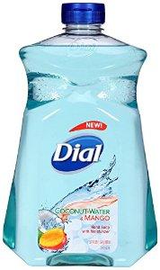 $3.01 Dial Liquid Hand Soap Refill, Coconut Mango, 52 Ounce