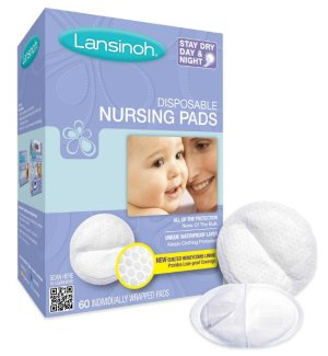 $16.8Lansinoh Stay Dry Disposable Nursing Pads, 60 Count Boxes (Pack of 4)