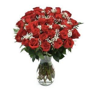 $64.98 + Free DeliveryRose Bouquet, Red (36 stems) and Vase included