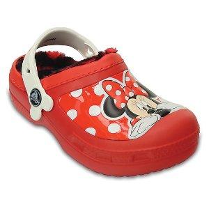 Creative Crocs Minnie™ Fuzz Lined Clog