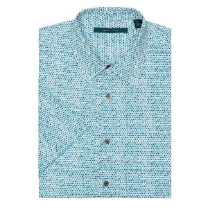 Short Sleeve Watercolor Dot Shirt
