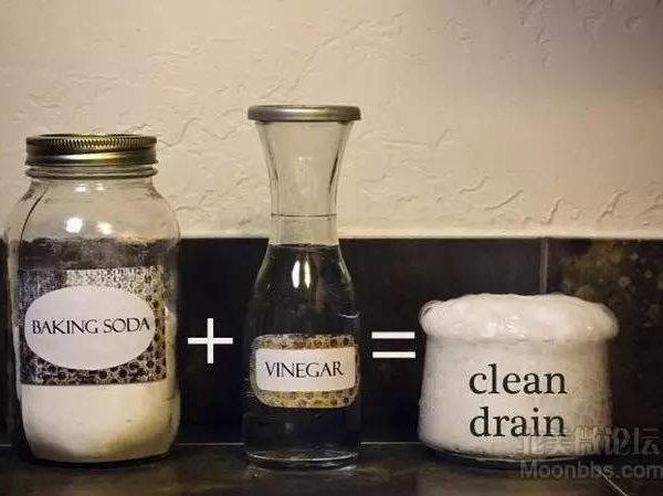 疏通下水道   先把半杯苏打粉洒入下水道
