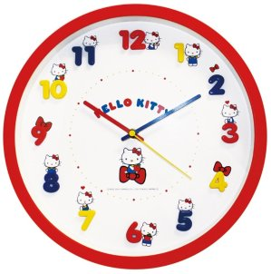 From $23.55 Sanrio Character Wall Clock @ Amazon Japan