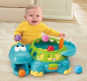 $16.99 Fisher-Price Go Baby Go Poppity-Pop Musical Dino