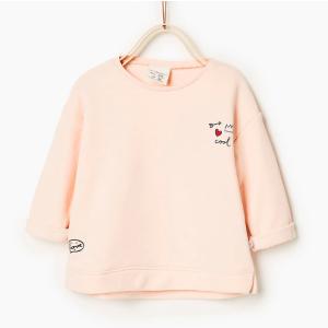 Plush sweatshirt - BABY GIRL-SPECIAL PRICES-KIDS | ZARA United States
