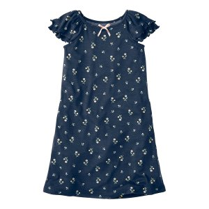 Hanna Andersson Navy Nightgown in Dreamy Poly | zulily