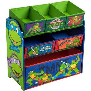 Delta Nickelodeon Teenage 儿童玩具收纳盒