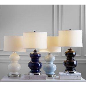 Alexis Ceramic Lamp Base   Pottery Barn