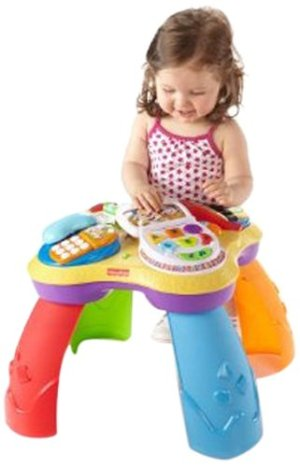 Fisher-Price Laugh N Learn Puppy and Pals Learning Table