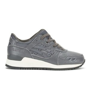 Asics Gel-Lyte III Trainers - Grey/Grey - FREE UK Delivery