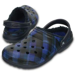 Classic Fuzz Lined Graphic Clogs