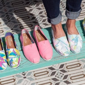 Up to 30% Off + Extra 20% Off Tom's Women Shoes Sale @ Bloomingdales