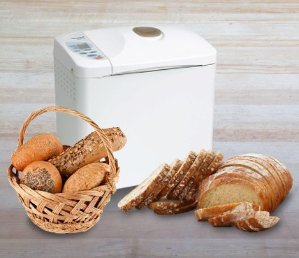 $91.89 Panasonic Automatic Bread Maker with Yeast Dispenser