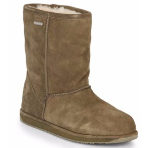 EMU AUSTRALIA - Paterson Shearling-Lined Suede Mid-Calf Boots - saksoff5th.com