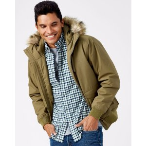 MEN'S BOUNDARY PEAK WATERPROOF BOMBER JACKET