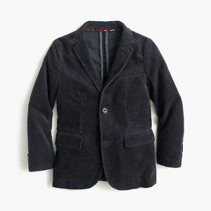 Boys' Unconstructed Ludlow Blazer In Corduroy : Boys' Suiting   J.Crew