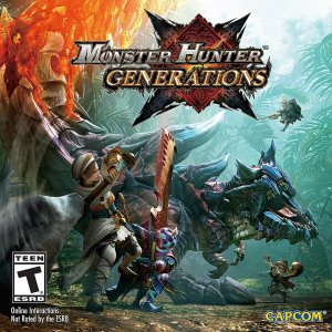GCU用户低至$19.99!Monster Hunter Generations 怪物猎人:世代 - Nintendo 3DS