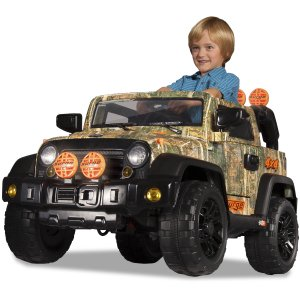 Dynacraft Surge Camo 6V 4X4 Battery-Powered Ride-On - Walmart.com