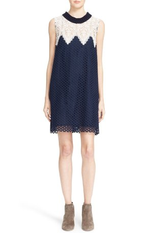 Sea Sleeveless Cotton Lace Dress Sale @ Nordstrom