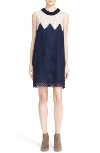 Sea Sleeveless Cotton Lace Dress Sale @ Nordstrom