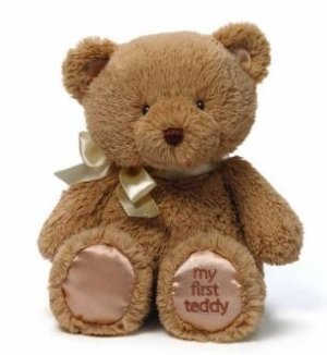 Gund My First Teddy Bear Baby Stuffed Animal 10 inches