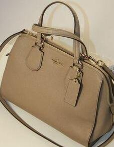 COACH Crossgrain Leather Nolita Satchel