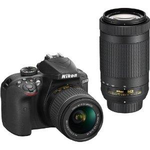 Nikon D3400 18-55mm & 70-300mm 镜头套装