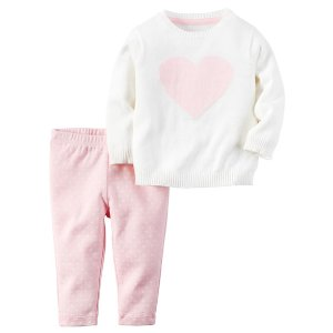Baby Girl 2-Piece Little Sweater Set   Carters.com