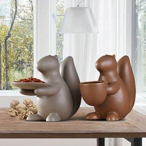 Ceramic Squirrel Serving Tray