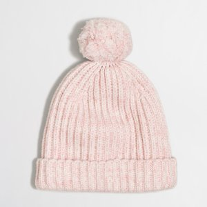 Marled pom-pom hat : Cold-Weather Accessories | J.Crew Factory