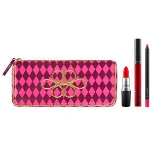 Nutcracker Sweet Red Lip Bag | MAC Cosmetics - Official Site