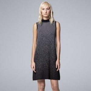 Women's Simply Vera Vera Wang Ombre Sweaterdress