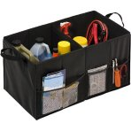 $9.99 Honey-Can-Do Folding Trunk Organizer, Black