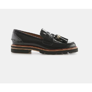 Stuart Weitzman Manila Mirror Leather Tassel Loafer Loafers | ELEVTD Free Shipping & Returns