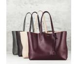 Saint Laurent - Saint Laurent Large Smooth Leather Shopping Tote - Saks.com