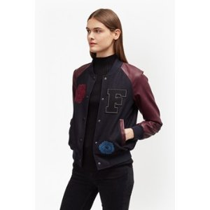 Viv Varsity Patch Jacket   Sale   French Connection Usa